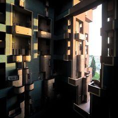 Walden 7 Apartment, Barcelona by Ricardo Bofill