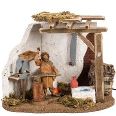 1 million+ Stunning Free Images to Use Anywhere Christmas Nativity Scene, Christmas Crafts, Christmas Decorations, Christmas Things, Christmas Ideas, Bird Houses Diy, Fairy Houses, Fontanini Nativity, Medieval Houses