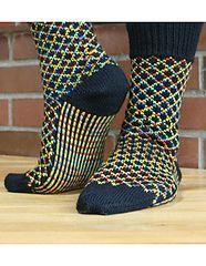 """TicTac Toes Socks"" knitting instructions by designer Camille Chang at Kni . : ""TicTac Toes Socks"" knitting pattern found by designer Camille Chang at KnitPicks. Crochet Baby Socks, Crochet Slipper Boots, Knitted Slippers, Knit Mittens, Knitting Socks, Hand Knitting, Knit Crochet, Knitting Patterns, Crochet Patterns"