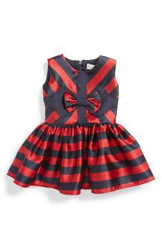 Halabaloo Stripe Sleeveless Dress (Baby Girls)