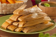 A great recipe for delicious tamales filled with succulent slow-roasted shredded beef and masa harina dough, steamed in corn husks. Mexican Dishes, Mexican Food Recipes, Snack Recipes, Mexican Desserts, Dinner Recipes, Masa Recipes, Mexican Spice, Mexican Brunch, Spanish Dishes