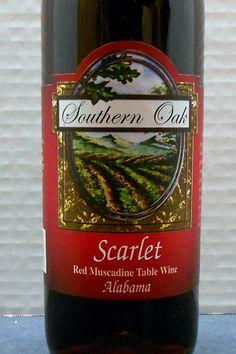 Alabama (White Oak Vineyards - Southern Oak NV Scarlet)  Read about it here: http://ofmaltandmerlot.tumblr.com/