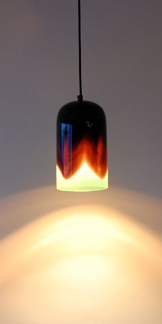 TM Pendant by Richard Rooze for Oljos Glass Concepts.