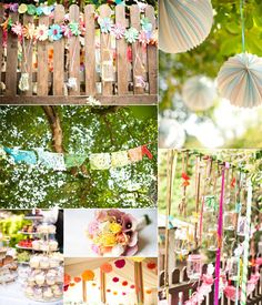 Contemporary Retro Brights V's Vintage Pastel Rainbow Wedding Ideas