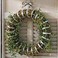 French Ribbon Wreath