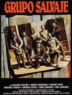 DVD CINE 1335 - Grupo salvaje (1969) EEUU. Dir: Sam Pekinpah. Sinopse: un grupo de veteranos atracadores de bancos que viven á marxe da lei e que actúan na fronteira entre os EEUU e México, ven acurralados á vez por uns cazadores de recompensas e polo exército mexicano