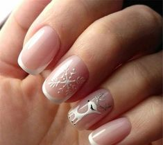 Winter Snowy Nails Art Design, Christmas nails, winter nails, Snow nails, White … – My CMS Snowflake Nail Design, Snowflake Nails, Christmas Nail Art Designs, Christmas Design, Christmas Ideas, White Snowflake, Cute Christmas Nails, Xmas Nails, Holiday Nails