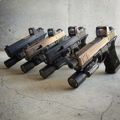 Check out this glock lineup - -- #glocklivesmatter #gunreligion by gun_religion