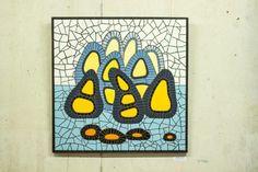 "Mosaic -70cmx70cm - ceramic tiles - ""BARBA PAPA"" Tiles, Mosaic, Ceramics, House, Wall Tiles, Ceramica, Home, Ceramic Art, Haus"