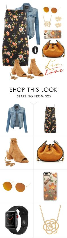 """""""Untitled #37"""" by gis-jv ❤ liked on Polyvore featuring LE3NO, Topshop, B Brian Atwood, Marc Jacobs, SW Global, Casetify, Lord & Taylor and Simone Rocha"""