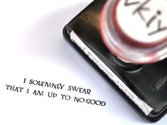 I Solemnly Swear That I Am Up To No Good Harry Potter by vkiy