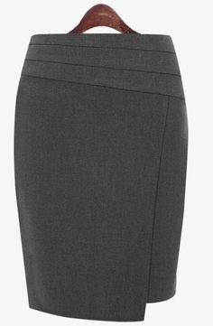 Asymetrical skirt