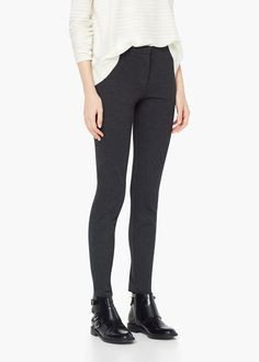 Skinny leggings - Trousers for Women | MANGO