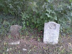 Arenzville, IL, North Cemetery, more back stones.
