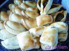 Fatairs variados (empanadas árabes)