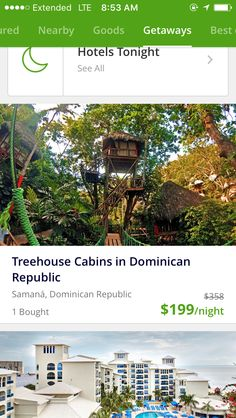 Dominican Republic....tree houses