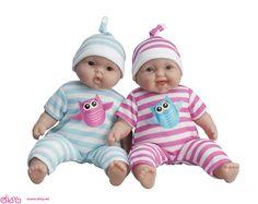 #muñecasberenguer #berenguerdolls #muñecasbebesdisy Muñecas Berenguer - gemelos bebé abrazable - 33cm