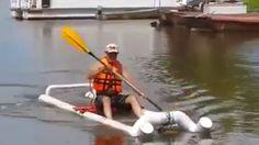 Multi-Day Kayak Camping and Packing Your Gear the Right Way - Way Outdoors Pontoon Boat Furniture, Kayak Store, Sailboat Plans, Kayak Boats, Kayaking Gear, Diy Boat, Boat Building Plans, Aluminum Boat, Boat Stuff