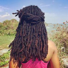 black womens hairstyles for medium length Dreadlock Hairstyles, Weave Hairstyles, Cool Hairstyles, Wedding Hairstyles, Dreads Styles, Curly Hair Styles, Natural Hair Styles, Locs, Sisterlocks