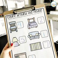 Free, Hands-On Home Learning Activities for Preschool and Kindergarten - Natalie Lynn Kindergarten