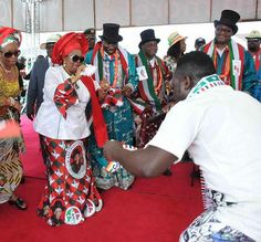 Marvelled Blog: Photos: GEJ, Mama Peace, others boogie to Duncan M...