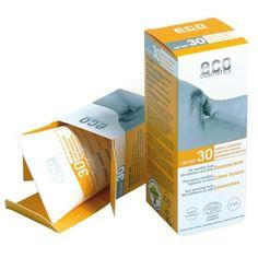 Eco Cosmetics Opalovací krém SPF 30 BIO ml) přírodní, s minerálními filtry Moisturizer With Spf, Lotion, Protector Solar, Glycerin, Happy Minds, Happy Skin, Hygiene, Diy Skin Care, Sun