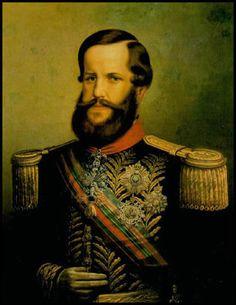Linde. D. Pedro II, c. 1865, Mosteiro de São Bento, Rio de Janeiro