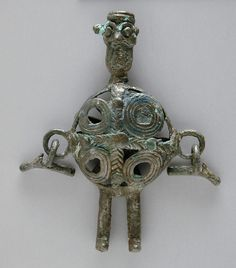 Pendant  Iran, Parthian period, about 150 B.C.-A.D. 225  Bronze, cast  LACMA