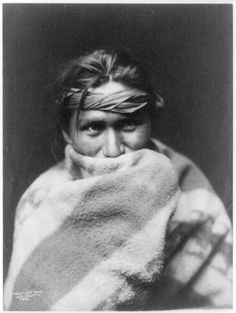 A Son of the Desert, Navajo. 1904. Edward Sheriff Curtis Photography
