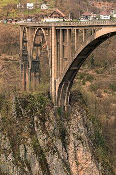 Мост через Тару, Дурмитор, Черногория Tara, Durmitor, Montenegro Crna Gora
