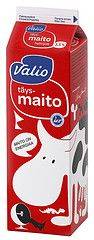 Valio whole milk - design Eero Aarnio