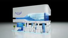 * PROLOGIX * exhibition stand * OAE * by Malets Nazar, via Behance