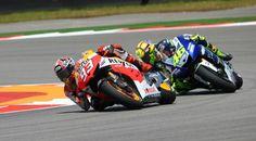 Marquez & Rossi motogp-jerez-2013