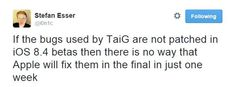 iOS 8.4 jailbreak ar putea fi posibil cu TaiG 2.0 | iDevice.ro
