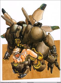 AppleSeed. Masamune Shirow.