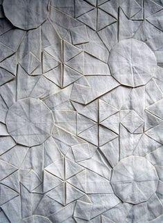 Chris K Palmer, origami + fabric