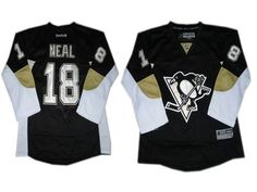 Youth Pittsburgh Penguins 18 James Neal Black Jersey  32.0 Nike Women 33ebdd310