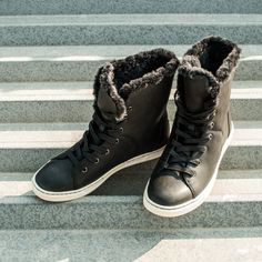 Beat the freeze in Fall Winter, Autumn, Ugg Australia, Freeze, Uggs, Bootie Boots, High Top Sneakers, Booty, Stitch