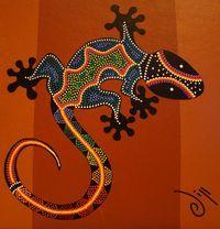 art plastique aborigene   Envoyé par : galerielo