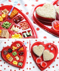 Adorably cute candy box Valentine's Day Lunch