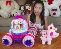 Diaper Princess Carriage - Videotutorial