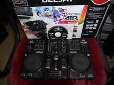 Hercules DJ Control Air kompletní mixážní pult (6276646176) - Aukro - největší obchodní portál