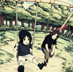 Itachi and Sasuke from Naruto.let's play, brother Madara Uchiha, Anime Naruto, Naruto Shippuden, Naruto And Sasuke, Gaara, Hinata, Naruto The Last, Naruto Team 7, Kakashi