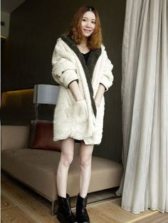 Casual Cotton Purity Coats With Hoodie Fashion for Women NWD-241002 - TinyDeal