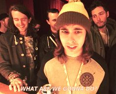 GiF Vic, You Me At Six, All Time Low, Mayday parade and Pierce the veil