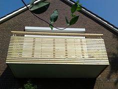 Projekte der Hofwerkstatt: Balkon Verkleidung in Sibirischer Lärche