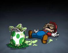 Mario Alien