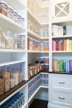 Organize your pantry with our OXO containers! Such a nice and clean look!
