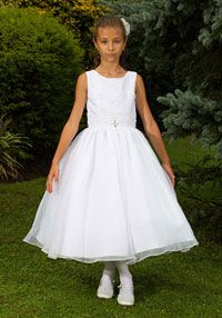 Flower Girl Dresses-Sweetie Pie Collection- Style 456 White Only