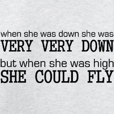 It feels so good to fly, but then the down kicks in and you are left picking up the parts of a plane wreck